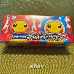 Pokemon Center Jeu De Cartes Xy Special Box Magikarp & Gyarados Pretend Pikachu Nouveau