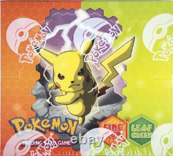 Pokemon Ex Fire Red Leaf Green Sealed Booster Box Près De La Menthe État Rare! Frlg