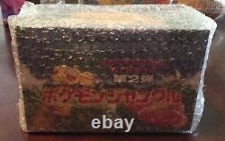 Pokemon Japonais Jungle Short Pack Booster Box Super Exclusive