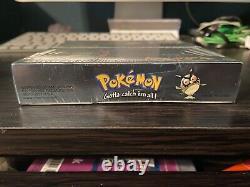 Pokemon Silver Version Gameboy Couleur Rare Article Élément Scellé Nouveau Dans La Boîte (2000)