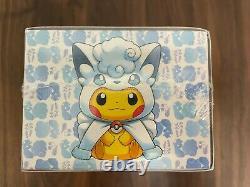 Pokemon Special Box Alolan Vulpix & Vulpix Pikachu Poncho Scelled New Japanese