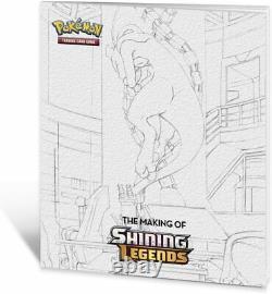 Pokemon Tcg Shining Legends Super Premium Ho-oh Collection Box Flambant Neuf Scellé
