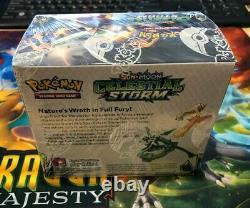 Pokemon Tcg Sun & Moon Sm7 Boîte De Rappel Celestial Stoster Nouvelles Cartes Scellées À La Main