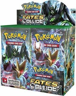 Pokemon Tcg Xy10 Fasts Collide Booster Box Nouvelles Et Scillées, En Main