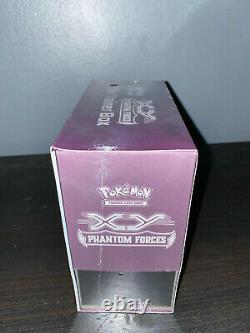 Pokemon Xy Phantom Forces Elite Trainer Box Gengar Scellé Original 2014 Rare