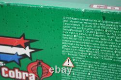 Rare 2002 G. I. Joe Vs Conquête Cobra X-30 Plan D'attaque Sonore Hasbro Nouveau Scellé
