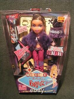Rare 2003 Bratz Yasmin Bienvenue À Las Vegas Doll Nouveau Dans La Boîte