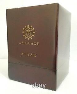 Rare Boîte Rouge Amouage Attar Amber Pure 12 Ml, Nouveau Dans La Boîte