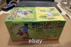 Rare! Boîte Scellée Panini Euro 1996 / 100 Packs / 600 Autocollants