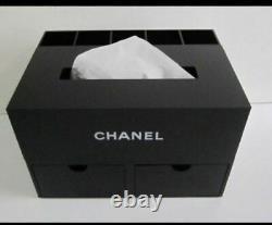 Rare Chanel Vip Gift Organizer / Boîte À Bijoux / Tissu - Porte-brosse
