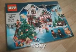 Rare Discontinued Nouveau Lego D'hiver Magasin De Jouets Set 10199 Noël Boxed Scellé Noël