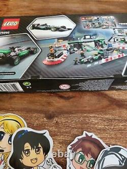 Rare Lego 2017 Mercedes Amg Petronas Team Gift 75995 Speed Champions Nouveau Non Utilisé