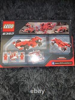 Rare Lego Racers Ferrari F1 Racer (8362) Nouveau Scellé En Boîte Rare Ensemble Retraité