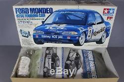 Rare New Open Box 1/10 Tamiya R / C 58143 Ford Mondeo Btcc Touring Car Ff Châssis