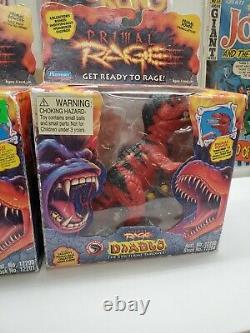 Rare Nib Primal Rage Lot Sauron Talon Armadon Diablo 1994 Atari 1996 Playmates