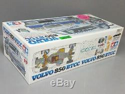 Rare Nouveau Dans La Boîte Scellée Vintage Tamiya 1/10 R / C Volvo 850 Btcc Kit 58183 Ff01 Traction Avant