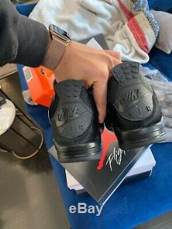 Rare Olivia Kim X Air Jordan 4 IV Femmes Taille 11.5 Hommes 10 Poney Cheveux Noirs Nib