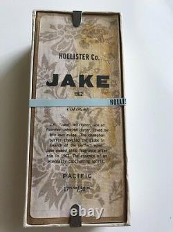 Rare Original Formula Hollister Jake 1.7 Oz Eau De Cologne Nouveau Dans La Boîte