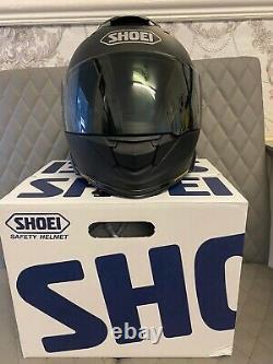 Rare Shoei Matt Black Moto Casque Gt Air 2 Box