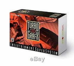 Rare Turbografx 16 Tg16 Mini Console Système Boîte Konami 16 Jeux D'orange Pc Engine