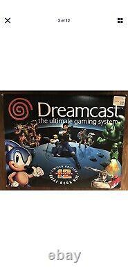 Rare Variante Sega Dreamcast Limited Edition Console Complete In Box