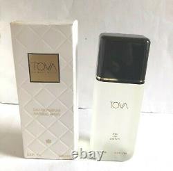 Rare Vintage Tova Beverly Hills Eau De Perfume Spray 3.3oz/100ml Nouveaut En Box