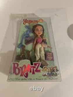 Rare Yasmin Bratz Fashion Doll Première Édition Nouveauté En Boîte Mga (2001)
