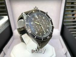 Rare Zenith Pilot Cronometro Tipo Cp-2 Chronographe Flyback Avec Box & Documents