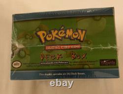 Rarissime 1999 Booster Scellé Wotc Pokemon Usine Plate-forme Boîte Case Monnaie