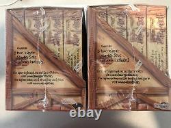 Rayons! Harry Potter Deux Joueur Starter Set Box New Trading Card Affichage De Jeu De Carte