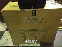 Recherche Acoustique Ar-132 Haut-parleurs Spirit Pair Nouveau Dans La Boîte! Vintage Rare