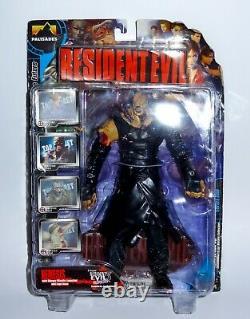 Résident Evil 3 Nemesis Stinger Missile Lanceur 9 Action Figure Boxed Rare