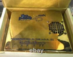 Rockford Fosgate Punch 45 Couvercle Amplificateur Ampère Linceul Nouveau Dans La Boîte! Gold Couverture! Rare