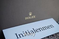 Rolex Box Plateau Revendeur Nouveau Dans La Boîte Dealerdisplay 100% Écran Cuir Auth Rare