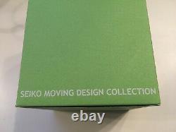 Seiko Moving Design Discus Burger Scbs007 Rare Collection Tout Neuf Dans La Boîte Nos