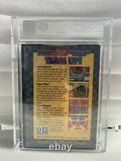 Sonic The Hedgehog 2 Sega Genesis Vga Classé 85+ Or Nouveau Scellé Dans La Boîte Rare