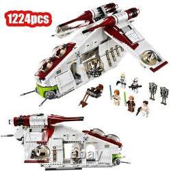 Star Wars Republic Gunship 75021 Complet Rare Notice-nouveau Compatible Avec