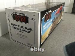 Star Wars Vintage Collection Jabbas Sail Barge Khetanna Haslab Nouveau Dans Box Rare