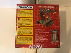 Starcom Ombre Upriser Mattel Coleco Rare New Mint Dans La Boîte Scellée Jamais Ouvert