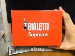 Supreme Bialetti Moka Express Coffee Maker Ss19 Box Logo. Rare. C'est Le Vhtf. A+vente