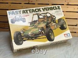 Tamiya Fast Attack Vehicle Racing Buggy Rc Kit De Voiture Modèle Japon Nouveau En Boîte Rare