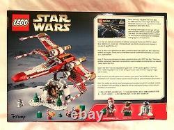Tout Nouveau - Sealed Lego 4002019 Star Wars Christmas X-wing Rare Limited Set