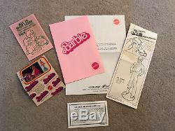 Tres Rare 1978 Barbie Ken Doll Superstar Gift Boxed Set Dept Exclusive Store Nib