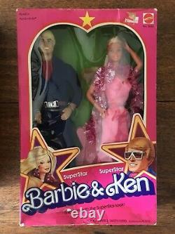 Très Rare 1978 Barbie Ken Doll Superstar Gift Set Boxed Dept Store Exclusive Nib