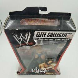Très Rare CM Punk Elite Collection Série 6 Mattel Wwe Figure Nouveau / Menthe En Boîte