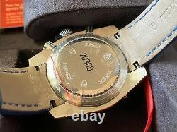 Très Rare Tudor Chronographe Cadran Gris Montre Automatique 20300 Avec Boîte Et Papier Nos
