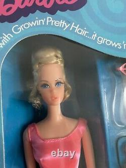 Vintage Barbie Growin Pretty Hair 1970 Rare Nrfb Mint Perfect Condition