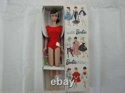 Vintage Barbie Rare Brunette Ponytail # 850 Nrfb All Original Et Box