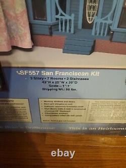 Vintage Mansion In Minutes San Franciscain Kit Dura Craft New In Box. Royaume