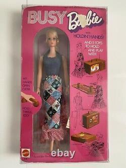 Vintage Occupé Barbie 1971 Nrfb Beau Rare